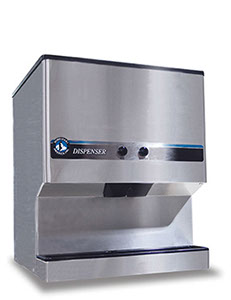 commercial ice dispenser