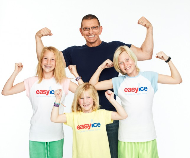Chef Robert Irvine partners with Team Easy Ice