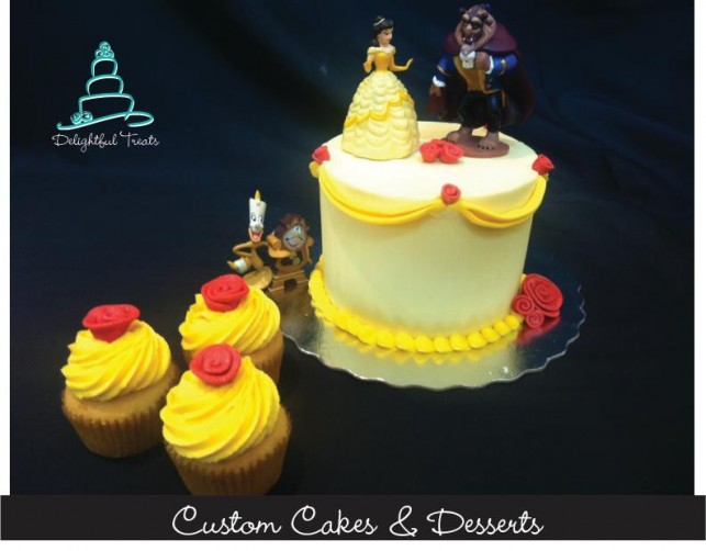 Spectacular cake designs at Delightful Treats