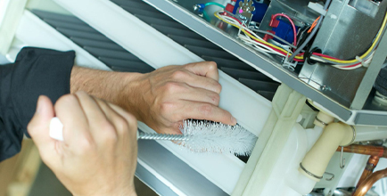 Easy Ice technicians provide maintenance and cleaning with your ice machine subscription.