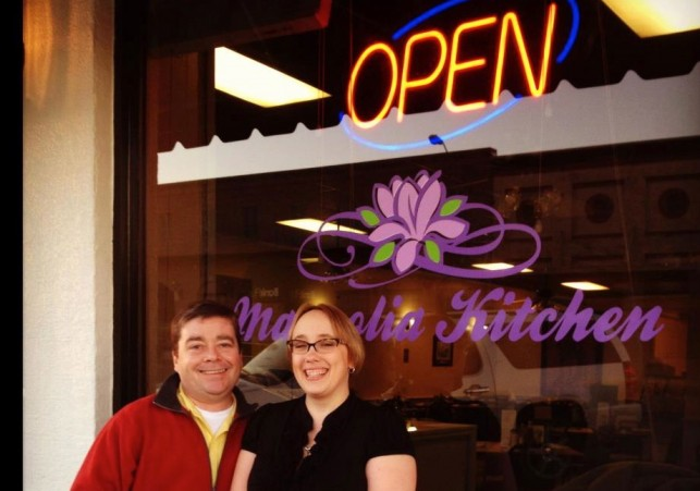 Amy and Michael Barker - Owners of Magnolia Kitchen in Flora, MS