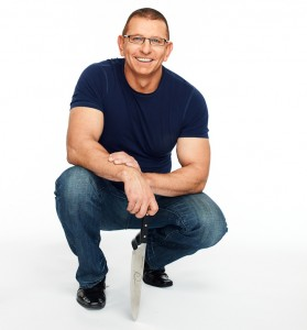 Chef Robert Irvine w/Knife
