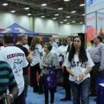 Robert Irvine meets fans in Easy Ice booth