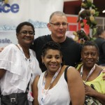 in Easy Ice booth at Southwest Foodservice Expo