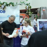 Chef Irvine talks about ice machines at Expo