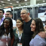 future ice machine customers with Chef Irvine