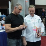 Expo attendee interested in ice machine subscription