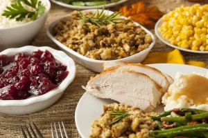 turkey and sides for Thanksgiving