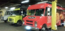 food trucks, ice machines