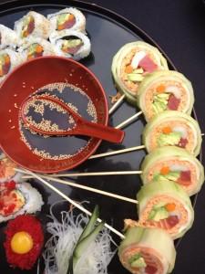 Sumptuous sushi at Shogun