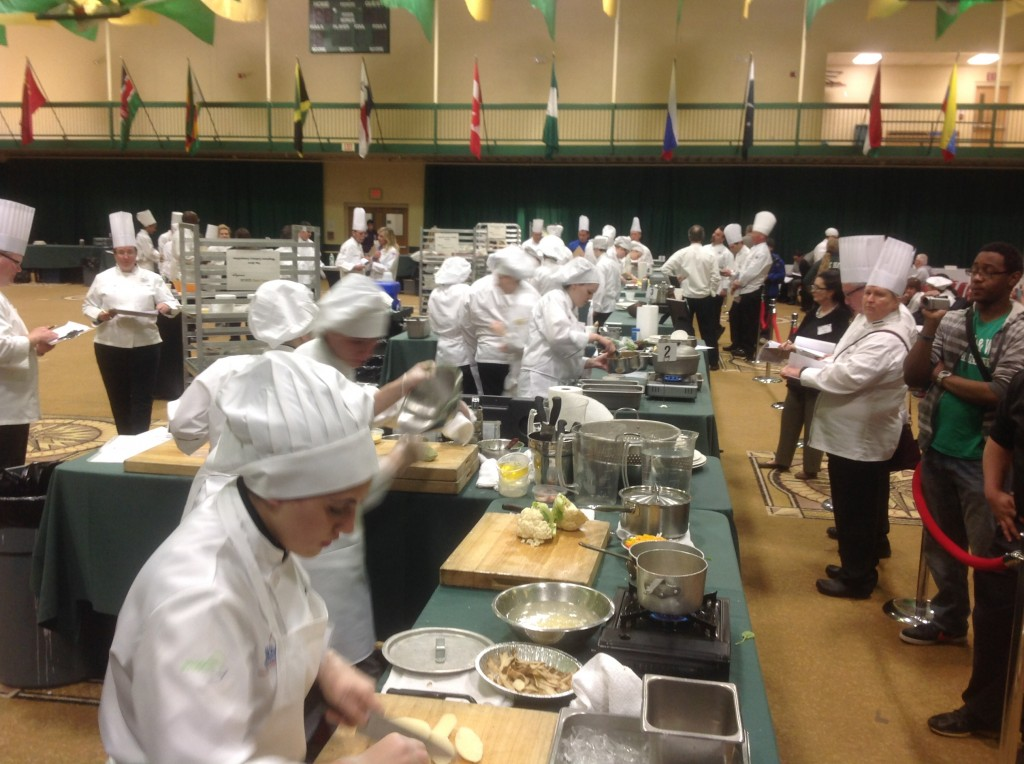 National Restaurant Assoc, future culinary stars