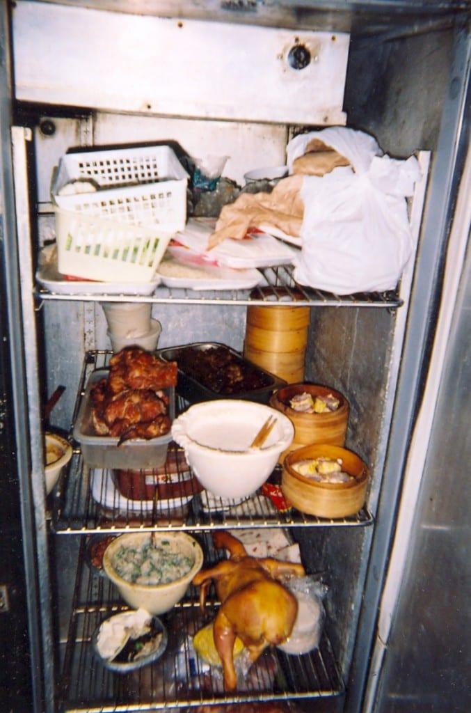 Gross restaurant refrigerator