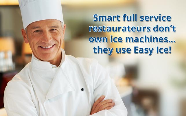 ice maker, ice machine, restaurants,