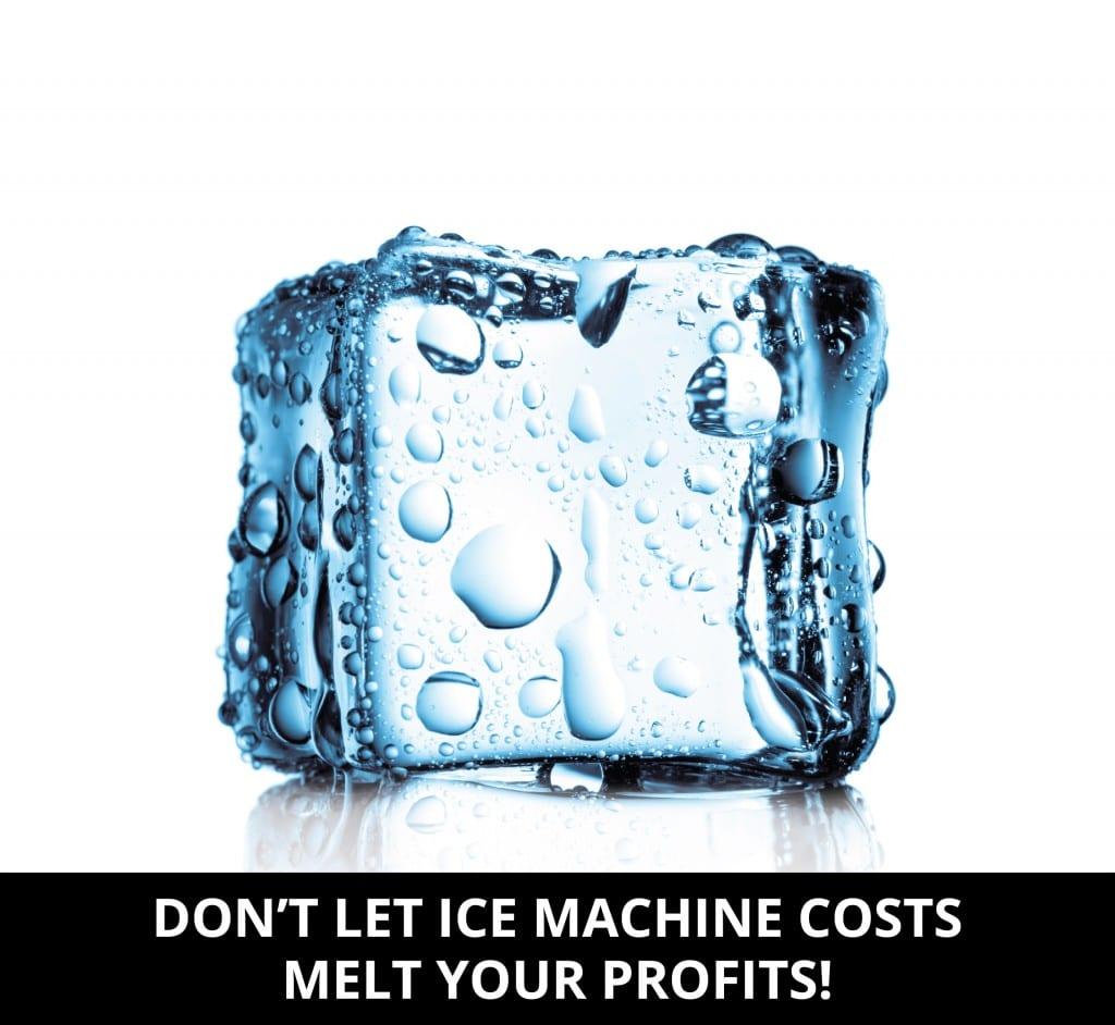full service restaurant ice machine