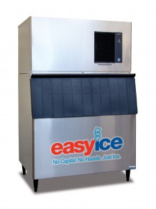 Commercial ice machine repairs are included in your subscription