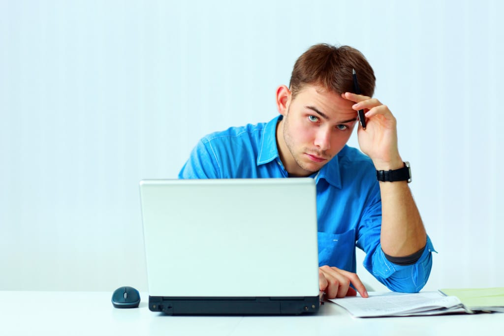 applicant taking pre-employment tests