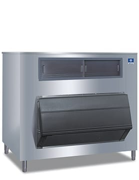 """Manitowoc F-1325 60"""" Ice Storage Bin with Stainless-Steel Finish Easy Ice"""