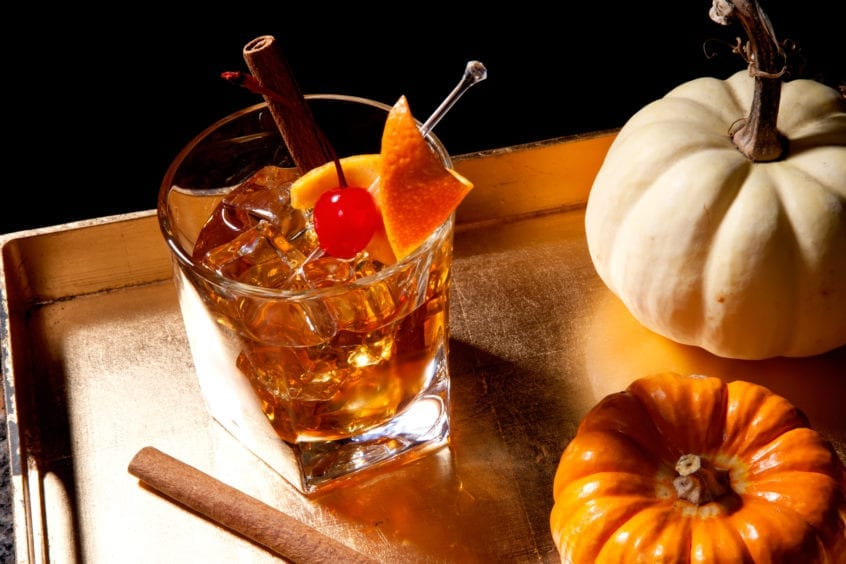 3 fall cocktails Easy Ice